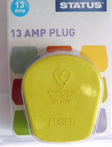Statue 13amp plugtop Light  Green pack of two
